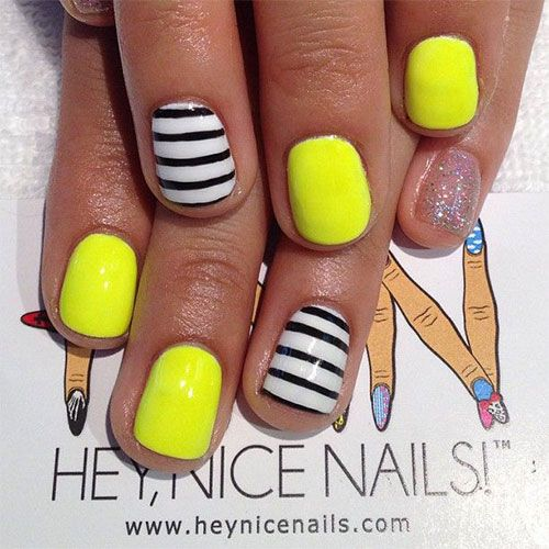 15 Exciting Vibrant Summer Gel Nail Artwork Types Ideas Trends Stickers 2017 Art