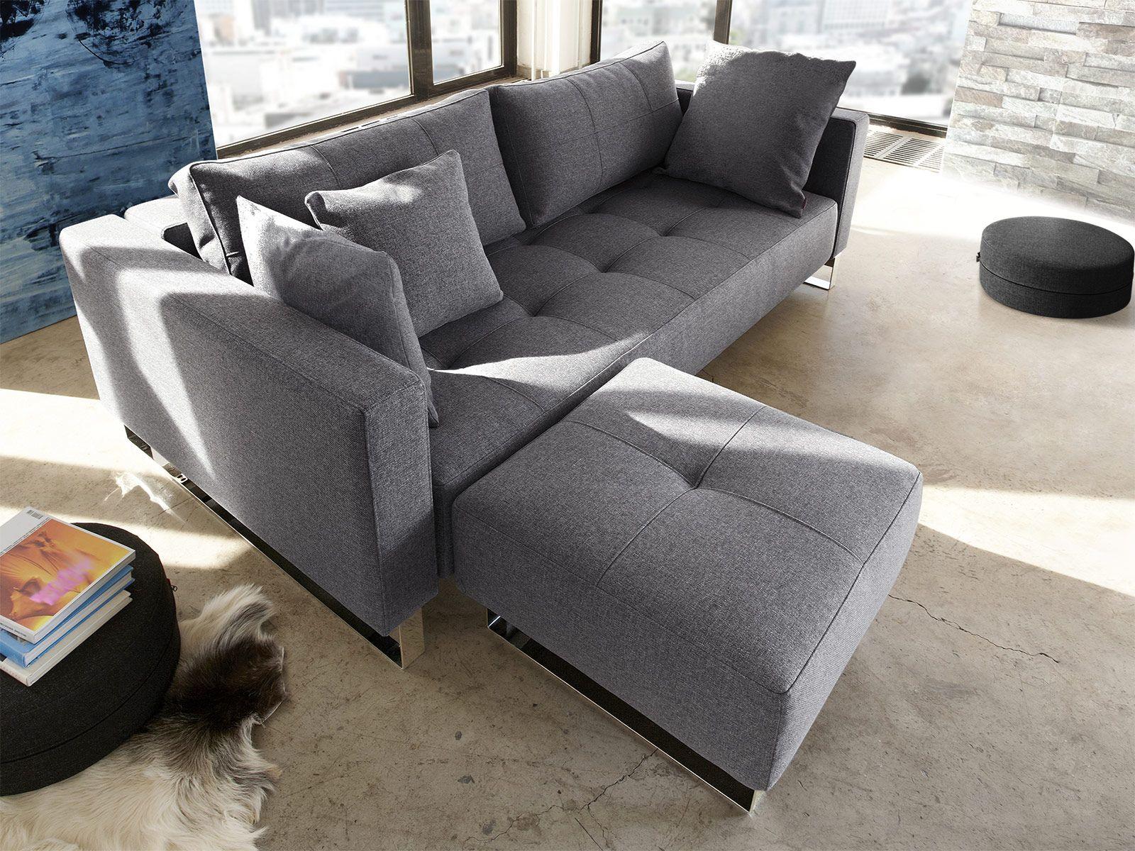 Schlafsofa Mit Federkern In Grau Kaufen Wilshere Schlafsofa Sofa Couch Mobel