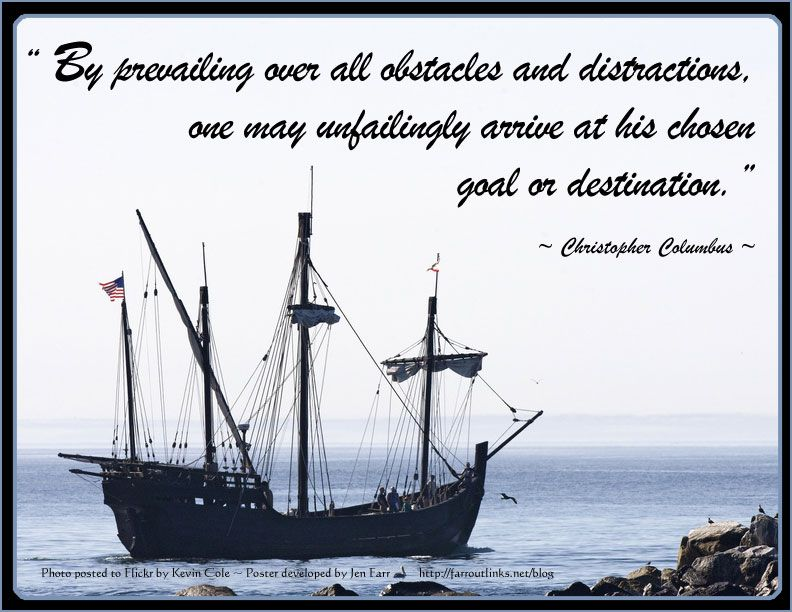 Funny Quotes About Christopher Columbus Quotesgram: Christopher Columbus Quote