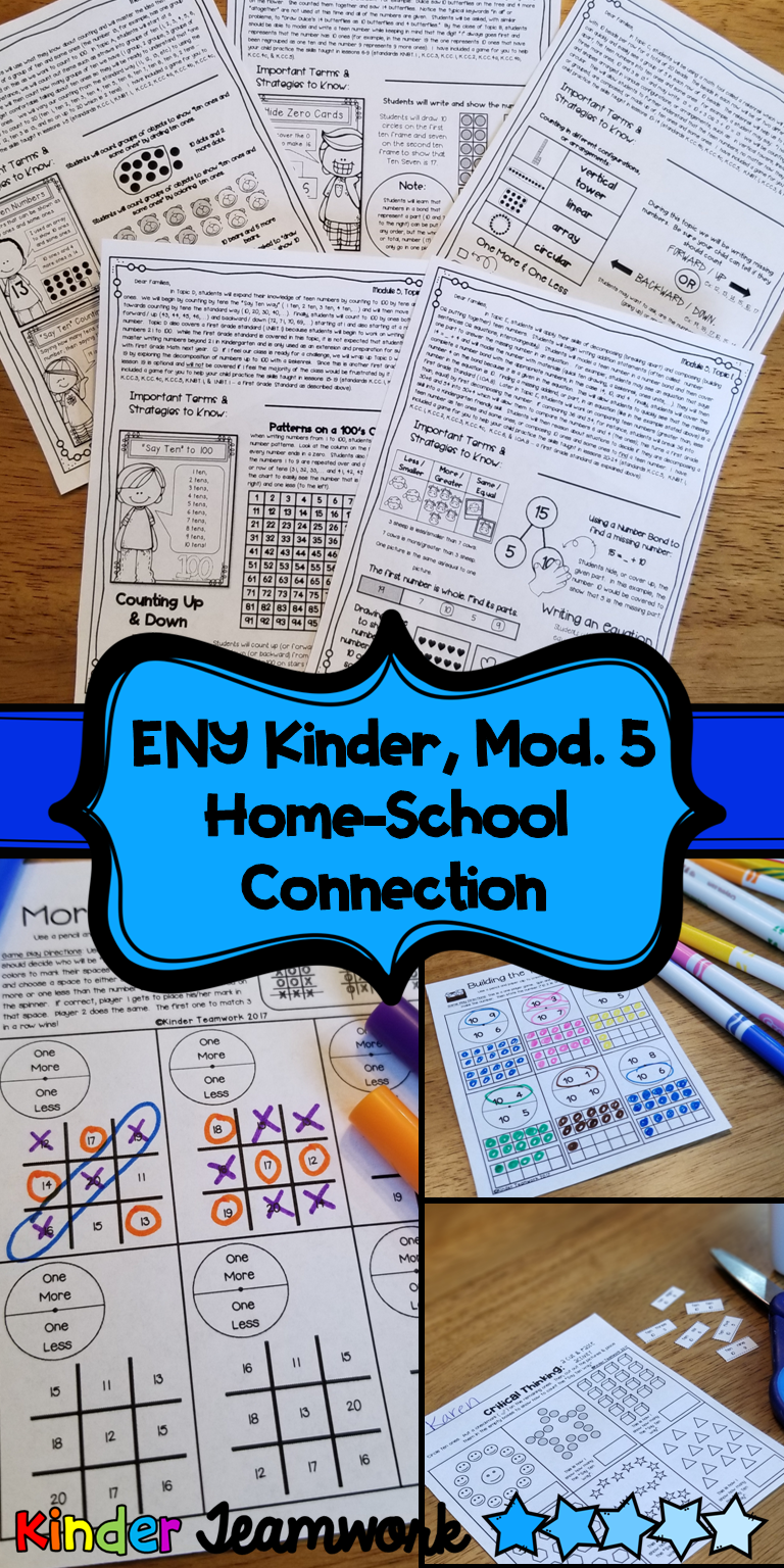 Engage New York Letters And Games Kindergarten Module 5