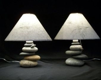 Balance Rock Lamp by mainerockguy on Etsy | Home Decor | Pinterest ...