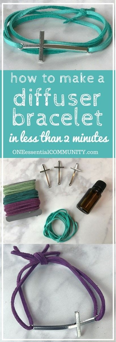 Make your own DIY essential oil diffuser bracelet with just a couple of supplies, less than 2 minutes to make, and no special craft skills needed. Fun for a girls night or make & take class. Plus there are lots of ideas for how to customize the scent of y