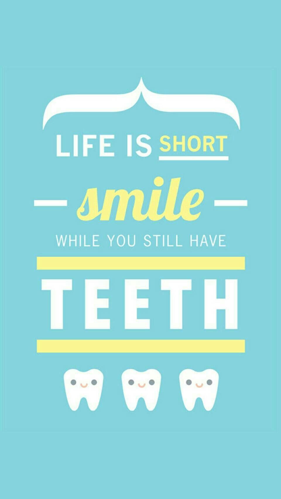 Pin by Alisha :) on Wallpapers   Dental quotes, Dental fun ...