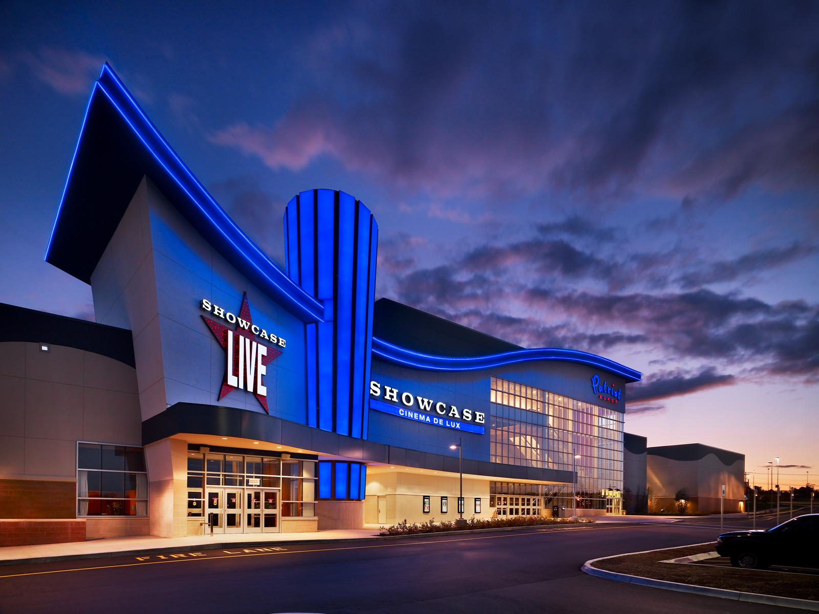 Showcase Live Building Places Cinema Image House