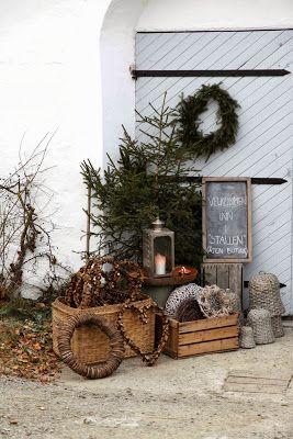 aussendeko weihnachten fast genau so nur ohne herzkes. Black Bedroom Furniture Sets. Home Design Ideas