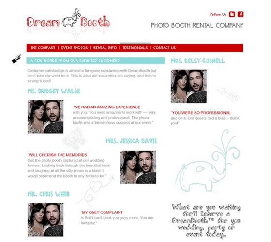 testimonials page design inspiration testimonials reviews page