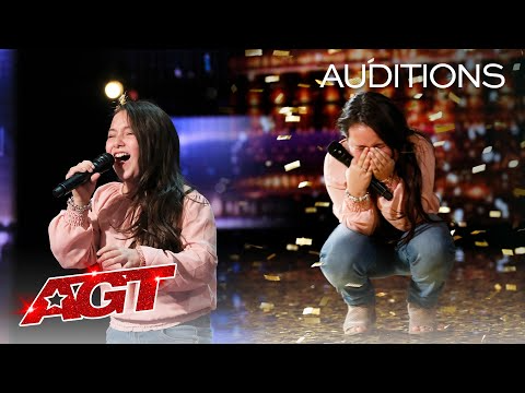 333 Golden Buzzer 10 Year Old Roberta Battaglia Sings Lady Gaga S Shallow America S Got Talent 2020 In 2020 America S Got Talent America S Got Talent Roberta