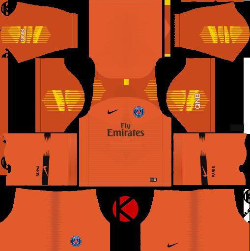 Psg 2019 2020 Kit Logo Dream League Soccer In 2020 Psg Soccer Football Kits
