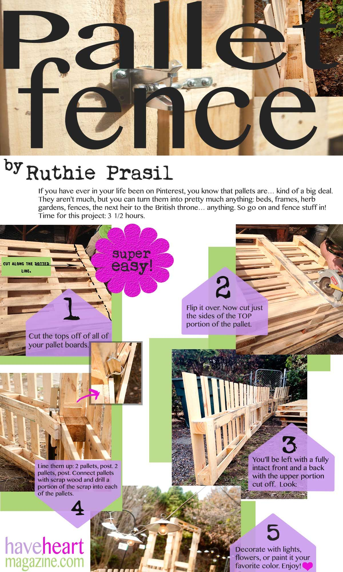Diy pallet fence for the home in pallet fence pallet fence
