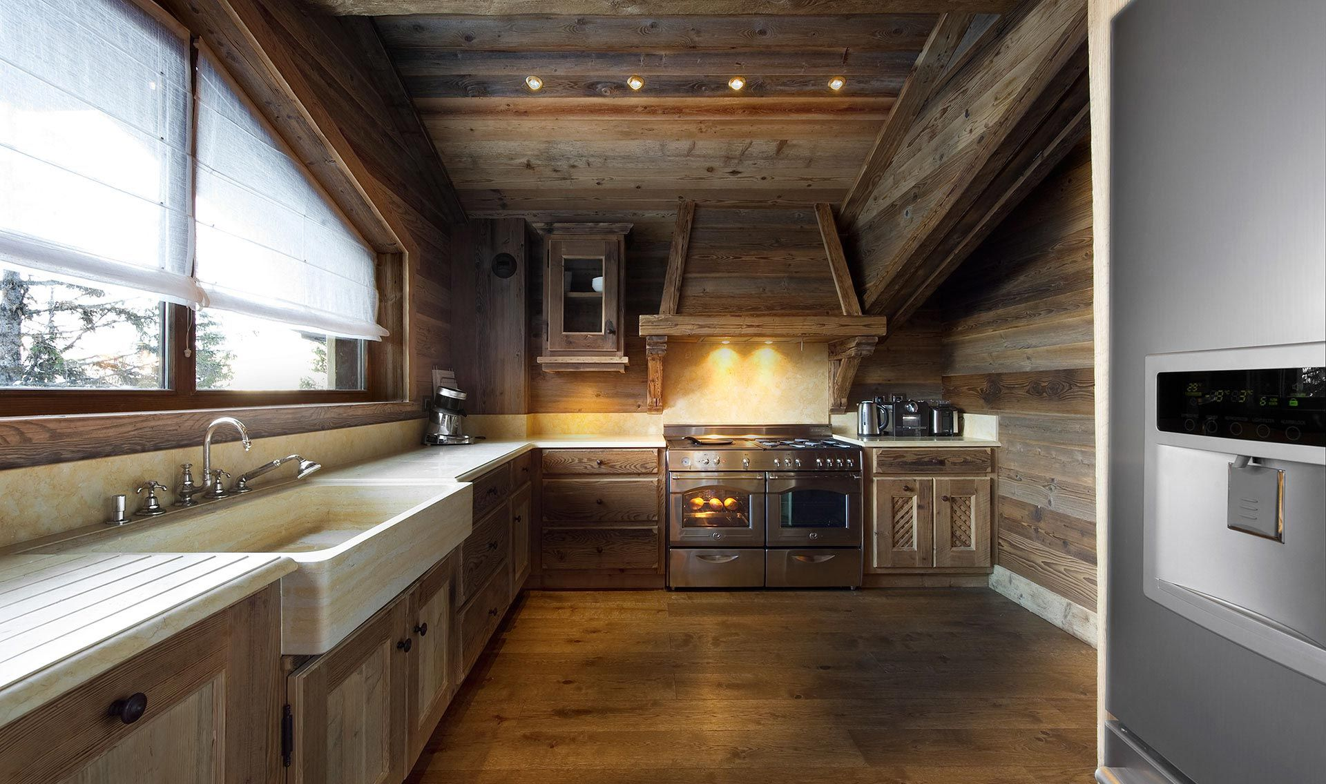 chalet jacuzzi courchevel | courchevel prestige chalets | chalet
