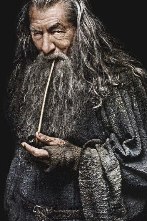 Gandalf The Grey Lord Of Rings Yüzüklerin Efendisi