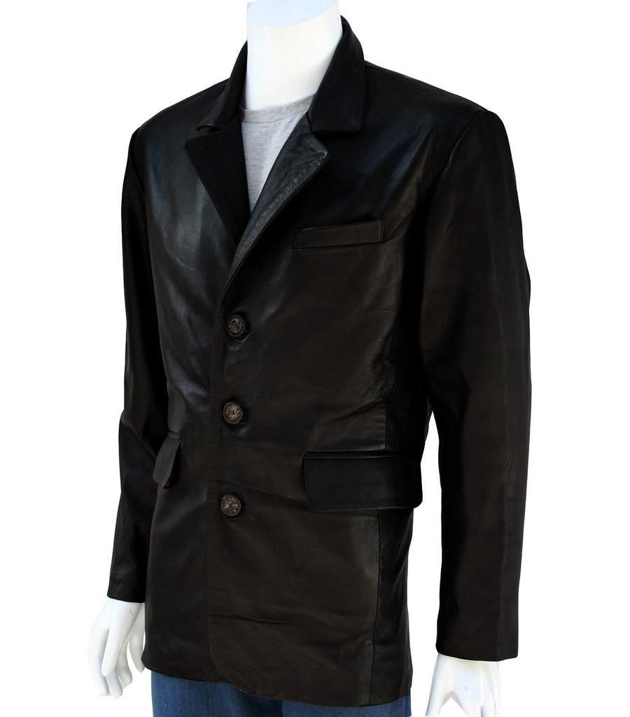 2 Button Men's Blazer Jacket