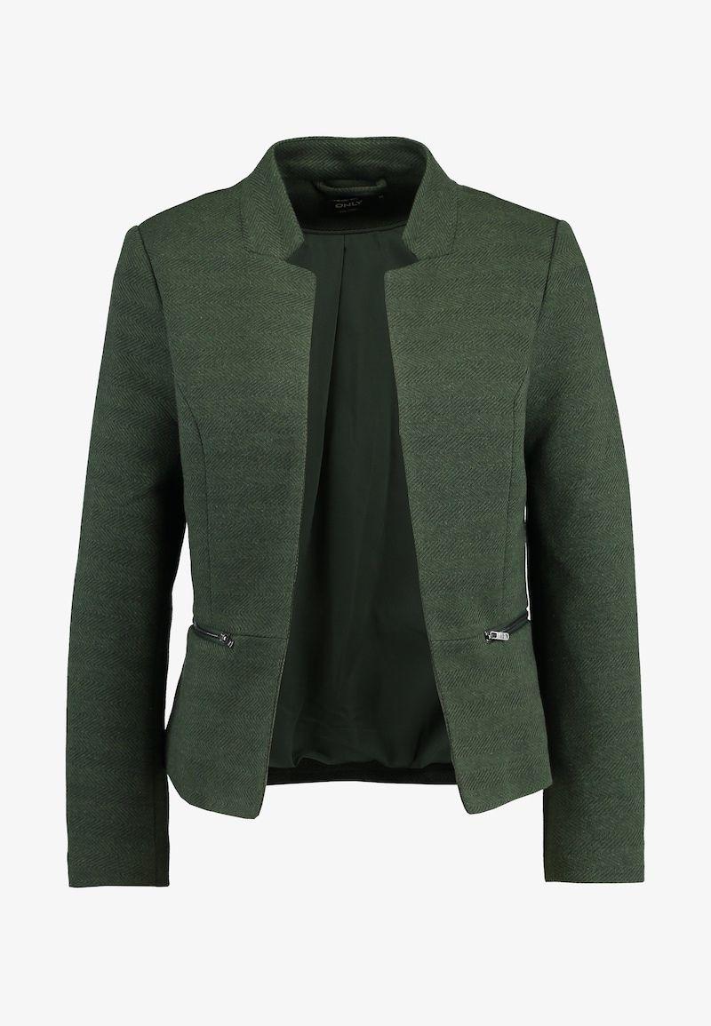 Discutere gasping Arrugginito  ONLY ONLLINEA - Blazer - duffel bag/melange - Zalando.no | Blazere, Blazer,  Bomull