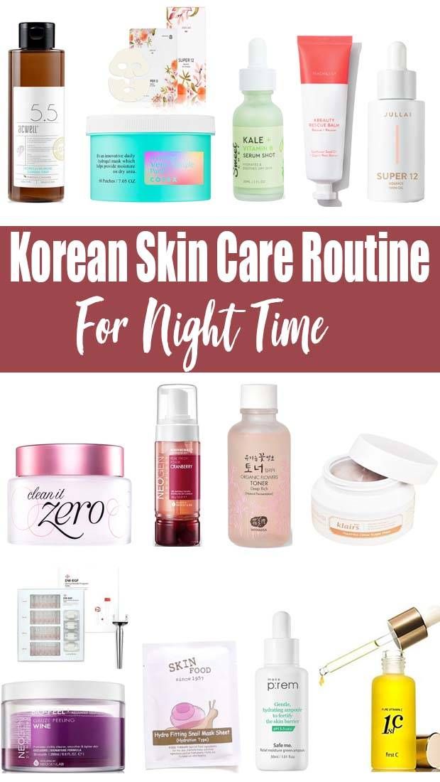 Top 10 Step Korean Skin Care Routine For Acne Products In 2020 Korean Skincare Routine Korean Skincare Skin Care Routine