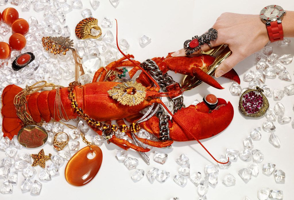 Michael Baumgarten still life lobster
