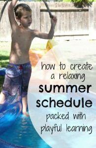 summer schedule 1 p