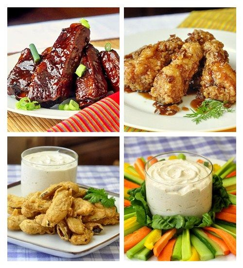 Still looking for Superbowl food ideas? We've got 85 tried and tested recipes for deep fried pickles, great wings, ribs, popcorn shrimp, burgers, pizzas, dips and so much more.