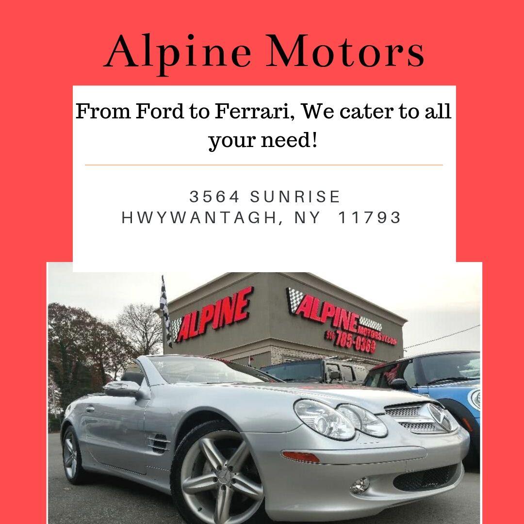 Alpine Motors New York Used car dealer, Car dealership, Car