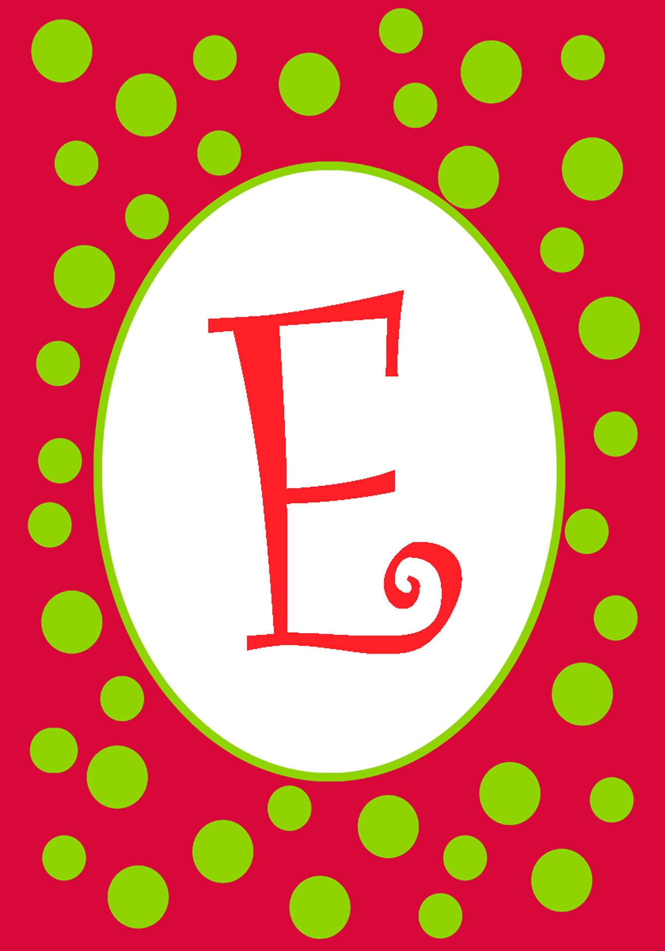 E is for Ella Monograms and Letters Pinterest