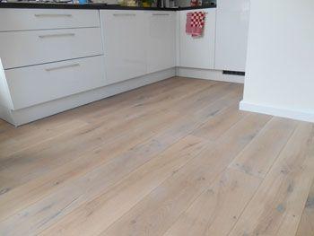 Eiken houten vloer white wash bax houthandel vloeren