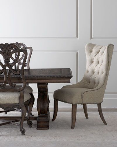 two donabella wood back side chairs side chair hooker furniture