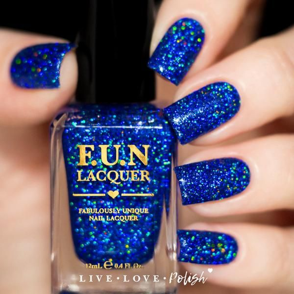 Fun Lacquer How Deep Is Your Holo Simplynailogical Collection