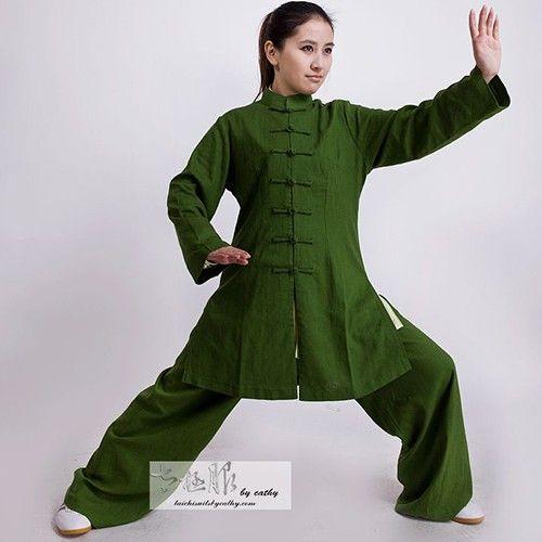 Gentle 1 Set Short Sleeve Tai Chi Clothing China National Style Tang Suit Martial Arts Kung Fu Wingchun Clothing Wushu Clothing Home