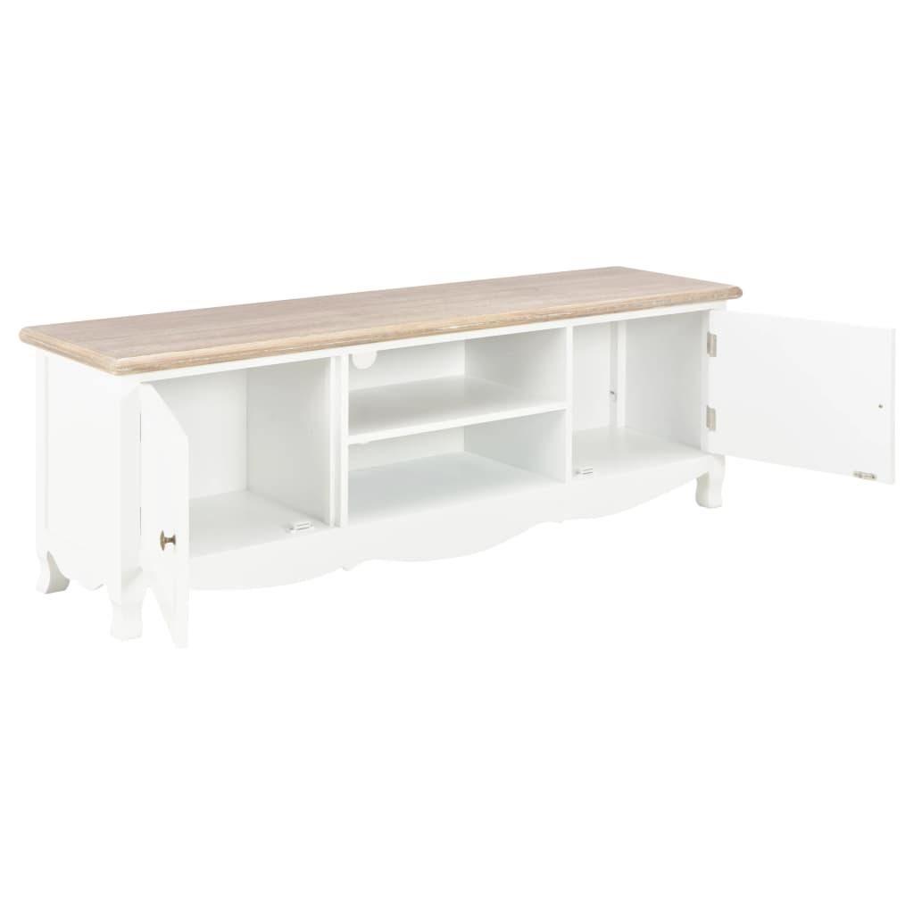 Vida Tv Cabinet White 120x30x40 Cm Wood