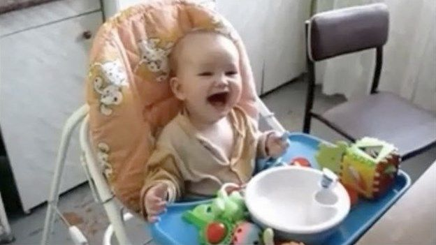 Unique Laughing babies supercut video will cheer you up from msnNOW Simple - baby laughing Trending