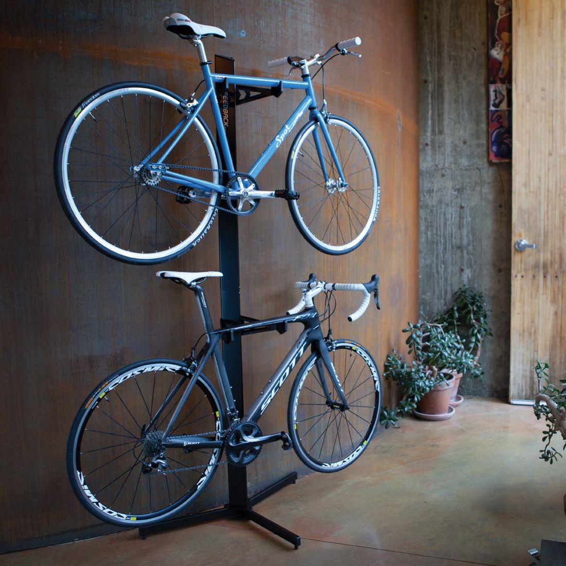 Superbe Metal Home Freestanding Rack To Store And Display Your Bikes. #bikestorage  #garagestorage #storeyourboard