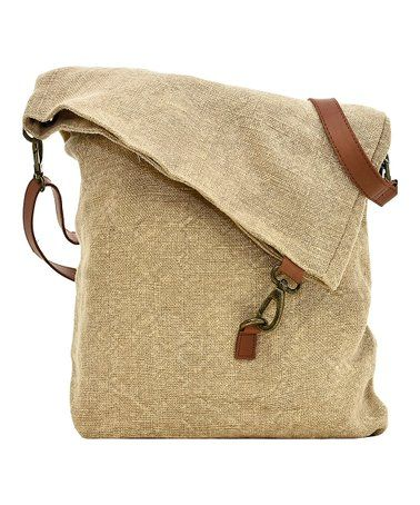 76a713020024 This Natural Fold-Over Jute Crossbody Bag is perfect!  zulilyfinds ...