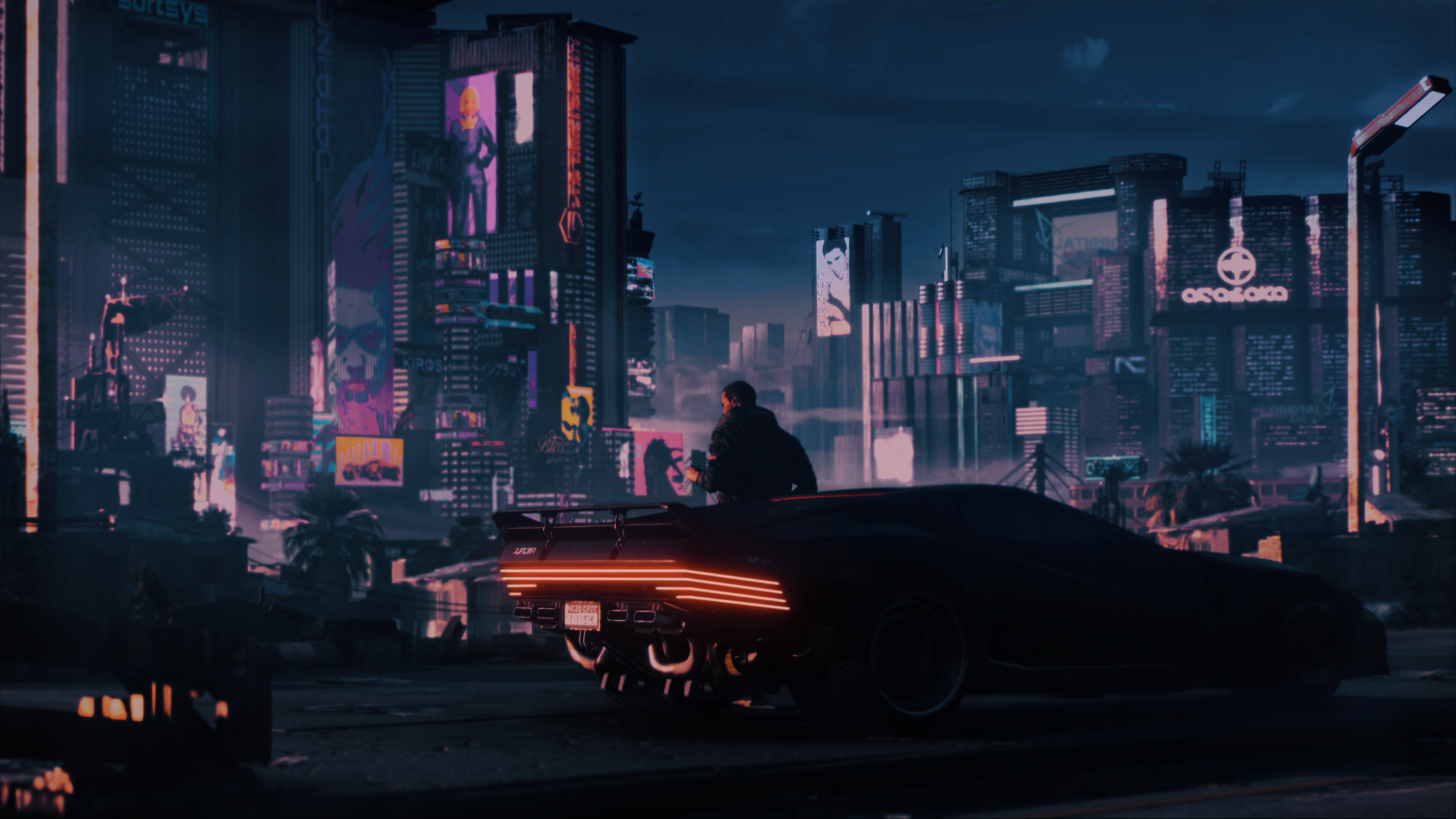 Cyberpunk2077wallpaper In 2020 Cyberpunk 2077 Cyberpunk Beach Painting