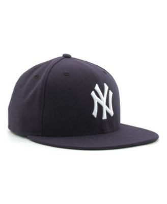 New Era New York Yankees Mlb Authentic Collection 59FIFTY Fitted Cap - Blue 6 3/8