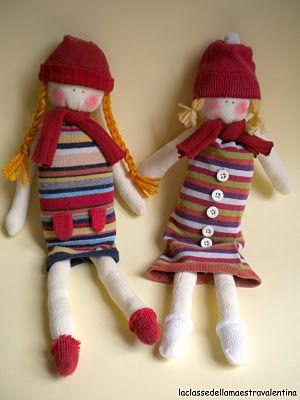 bambole di calzamaglia