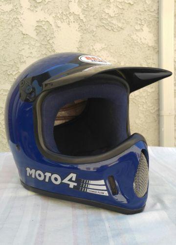 Apparel Vintage Bell Moto 4 Helmet Size 7 1 2 Please Retweet