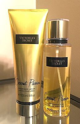 VICTORIA'S SECRET Coconut Passion Lotion & Body Mist Set