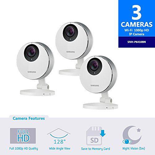 Samsung SmartCam HD Pro SNH-P6410BN Full HD 1080p WiFi