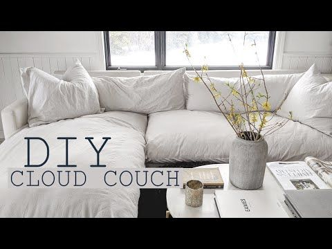 Photo of Home Series: DIY Cloud Couch
