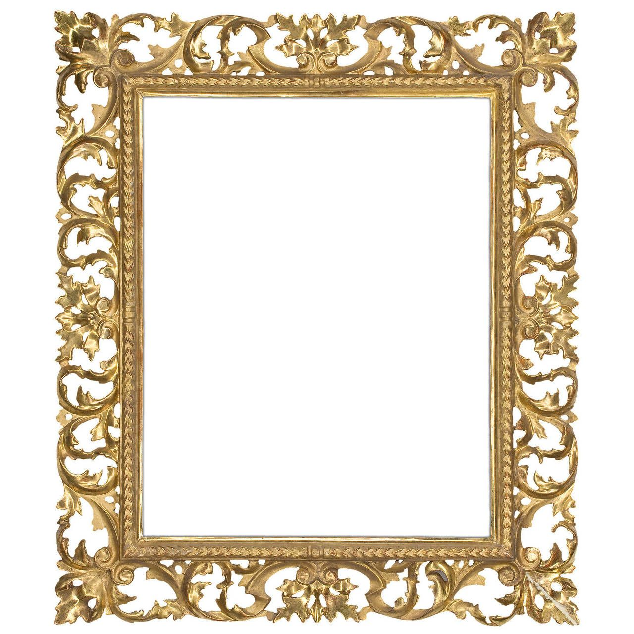 19th Century Italian Carved Frame Stuff To Buy Modern