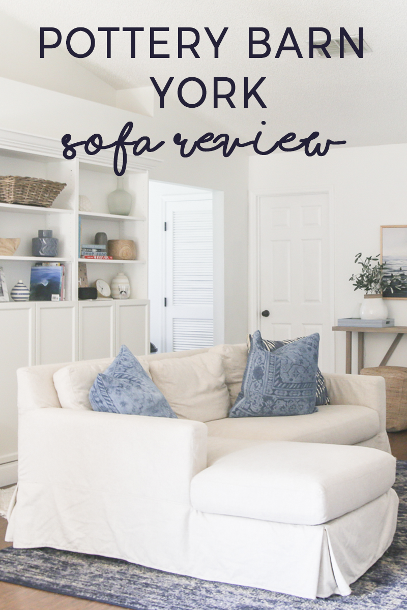 About that Sofa Pottery Barn York Sectional Review