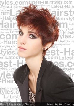 I can't decide how my hair would look this short, but I love this look!