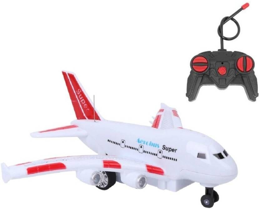 Battery operated RC 27 MHz Smart Electric Air Bus Toy with