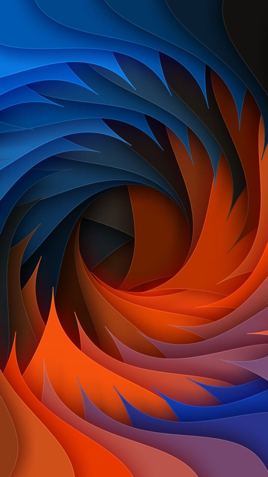 Colorful Swirl Abstract Wallpaper Abstract iphone