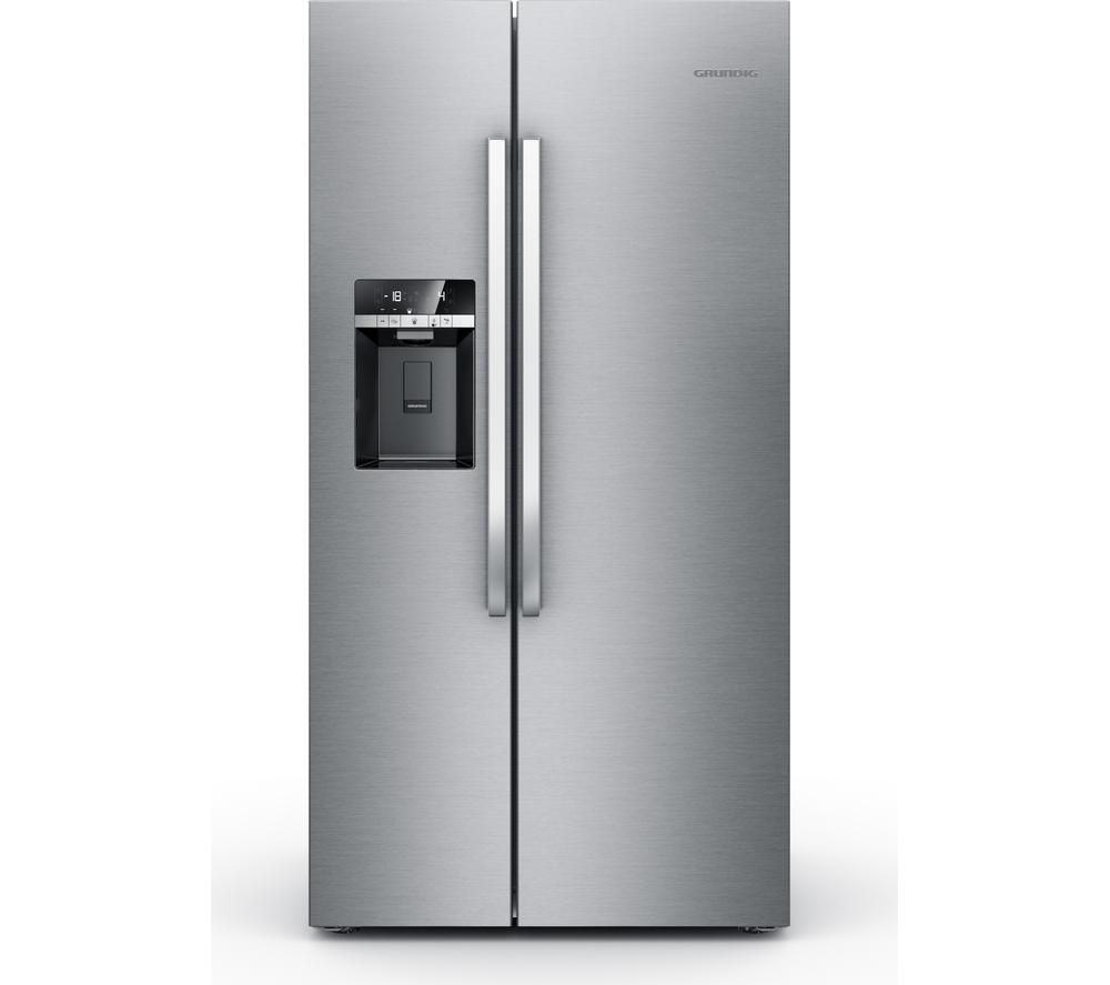 haier fridge freezer currys. gsbs13310x american-style fridge freezer - stainless steel haier currys