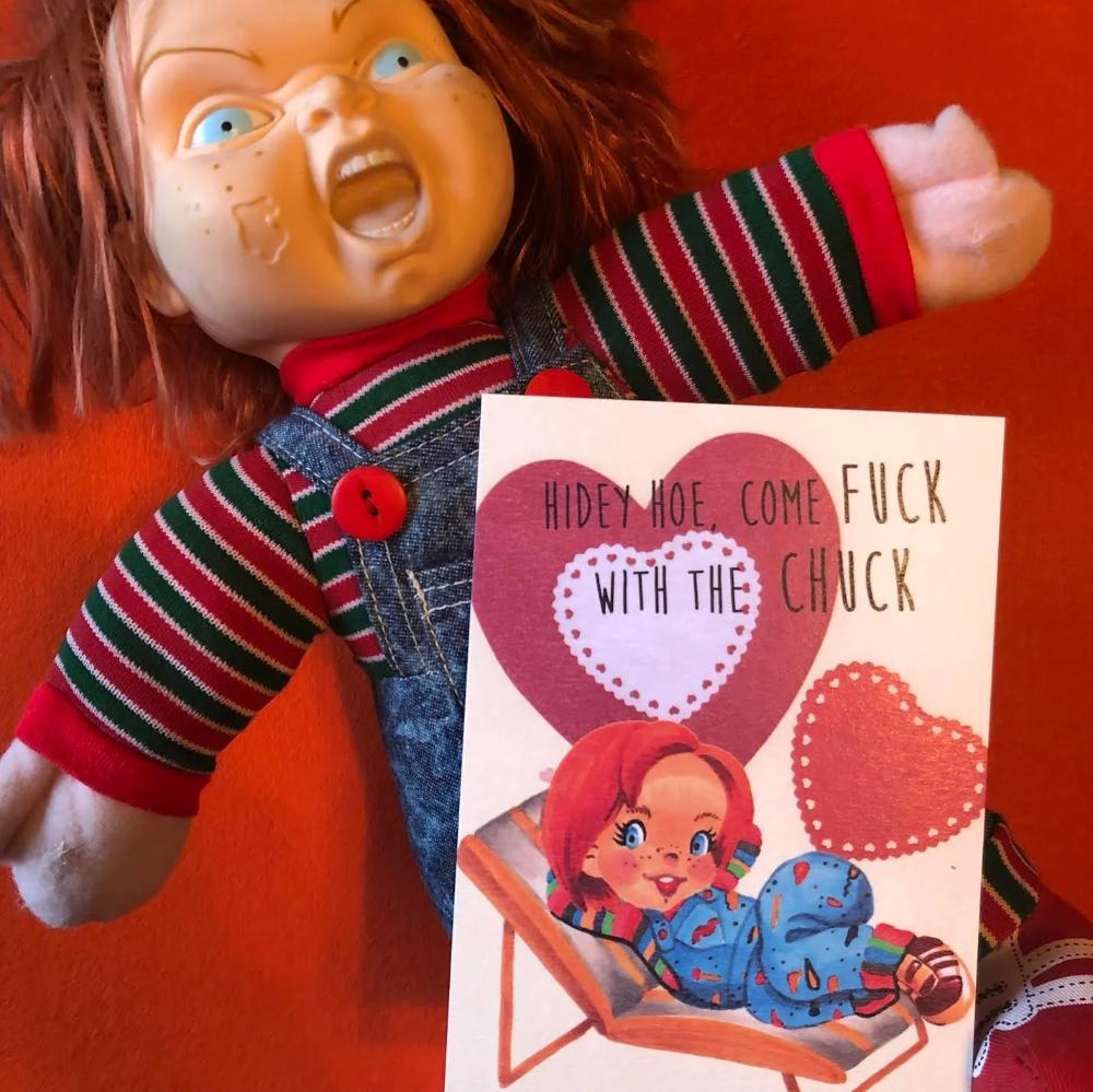 Horror Valentine Cards Valentines Valentinecards love