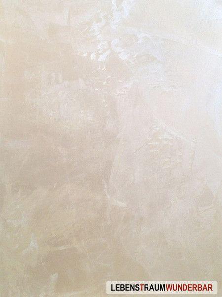 Samtseidige Oberfläche wie Tapeten der Renaissance - #glimmer - tapete schlafzimmer beige