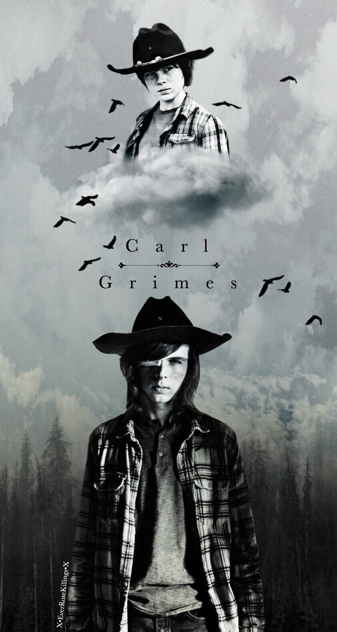 Rip Carl Thewalkingdead Carlgrimes Edit Amc Walking Dead