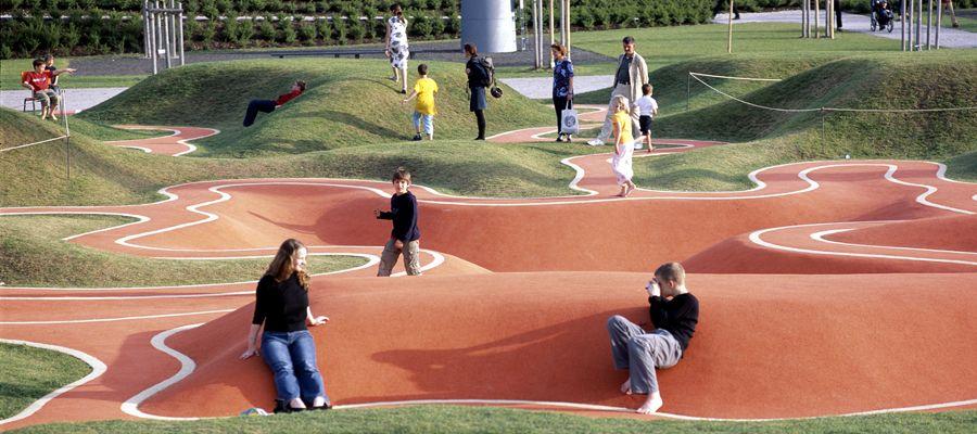 Informal Play Landscape L Playscapes Landscape Munich Landscape Architecture