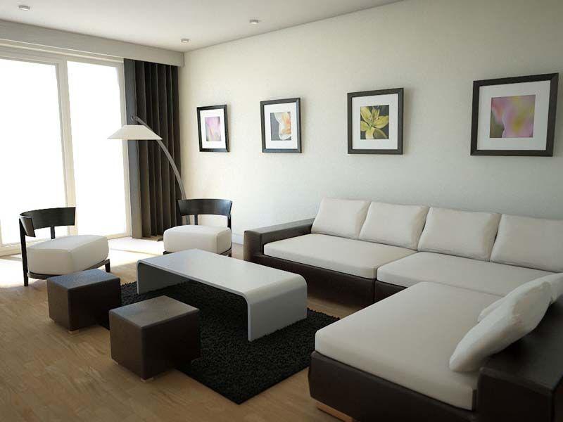 Contemporary Small Living Room Design | Living Room | Pinterest ...
