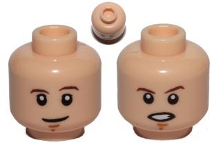 LEGO ANAKIN SKYWALKER STAR WARS MINIFIGURE Freckles FLESH HEAD